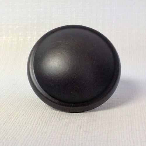 1 Oil Rubbed Bronze Cabinet Drawer Knob Pull w//Screw Decorite 585-OB