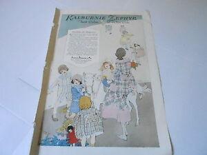 VINTAGE-MAGAZINE-AD-1329-1920-KALBURNIE-ZEPHYR-CLOTHING-PATTERNS-PONY
