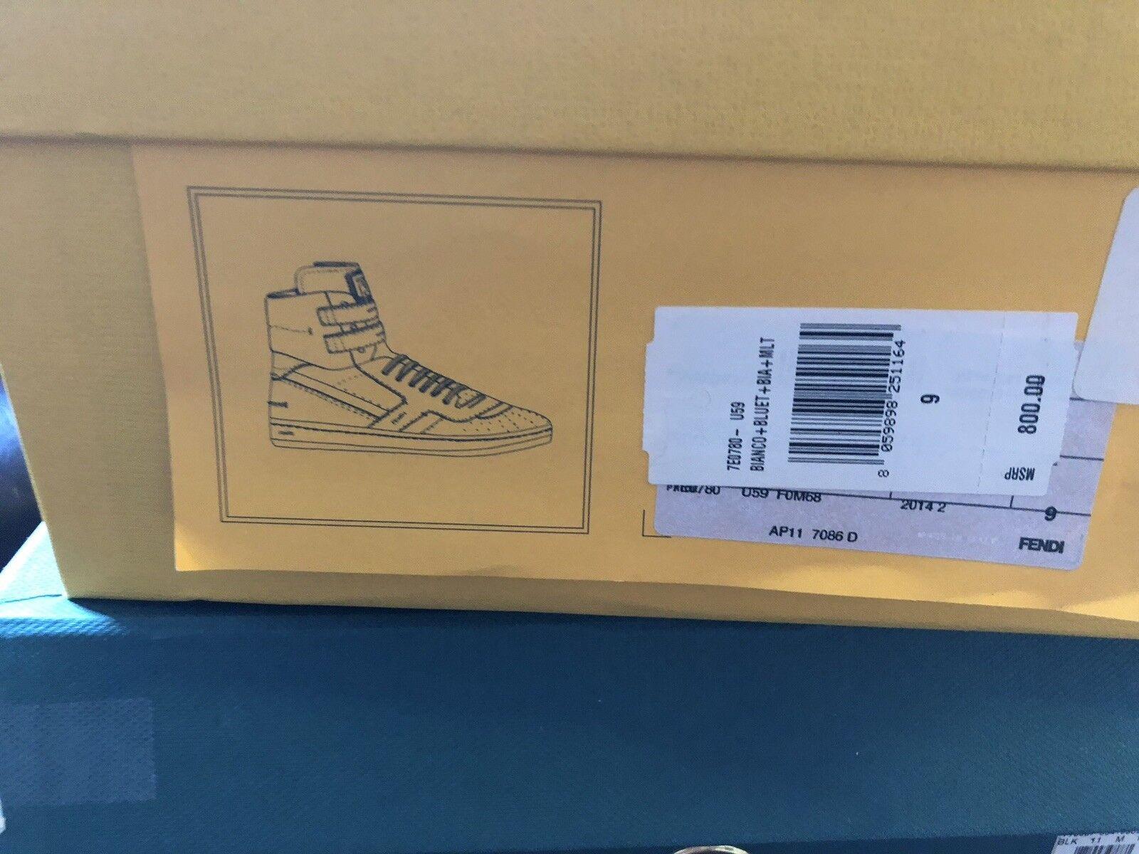 Uomo Fendi  Size 9 Pristine  Condition Shoes .  Retails For  800