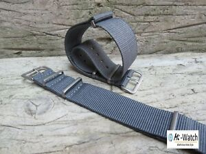 Nato-Grey-G10-Nylon-Divers-MOD-Military-Watch-Strap-Band-18-20-22-24mm