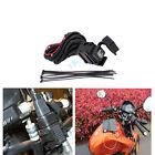 12V Motorcycle Waterproof Phone GPS Dual USB Power Supply Port Socket Charger