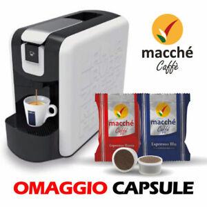 MACCHINA CAFFE' LAVAZZA ESPRESSO POINT EP MINI BIANCA + CAPSULE MACCHE' OMAGGIO