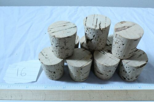 Free Shipping 5 10 100 Pack of Tapered Cork Stoppers Bungs Size 4-32
