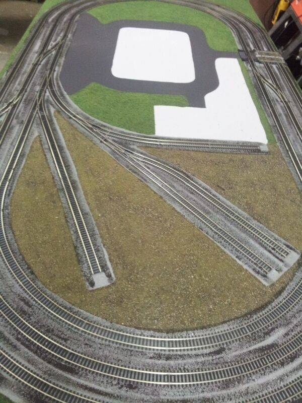 Hornby Train Layout wirosso and ready for buildings