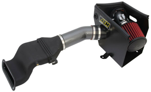 AEM Cold Air Intake System fits 11-14 Nissan Maxima 3.5L V6 Gunmetal Gray