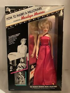 Vintage-1982-Tristar-Marilyn-Monroe-Doll-How-To-Marry-A-Millionaire-NIB-5014