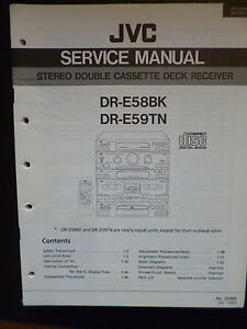 Original-SERVICE-Manual-JVC-dr-e58-BK-dr-e59tn
