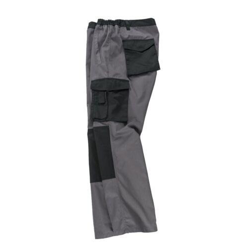 XXL Abraxas lavoro pantaloni antracite con dehneinsätzen