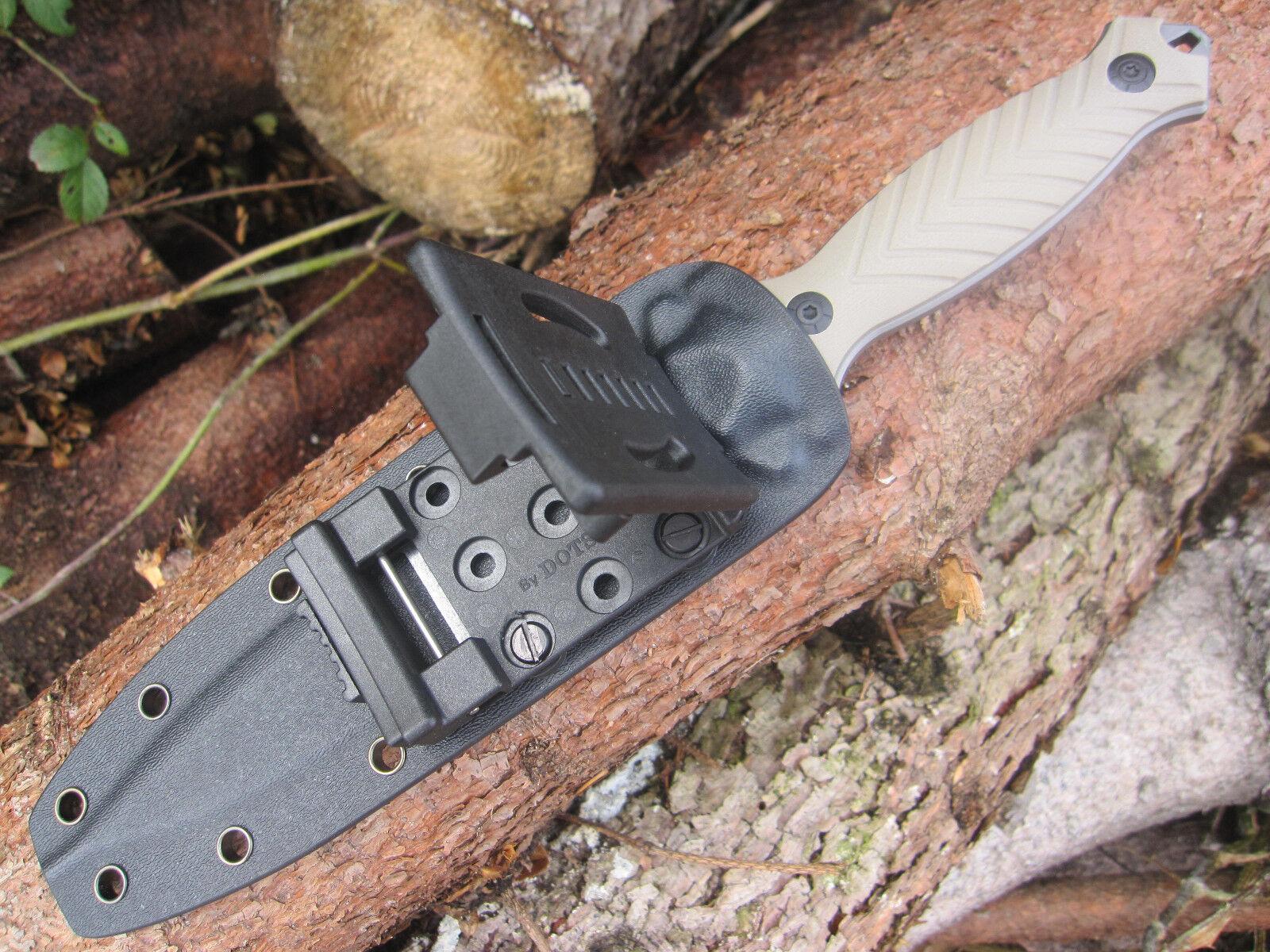 Enforcer HANNIBAL Gürtelmesser mit taktischem Koppel-Tragesystem Messer
