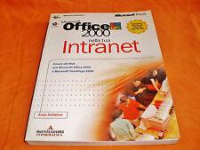 microsoft office 2000 nella tua intranet mondadori informatica 1999