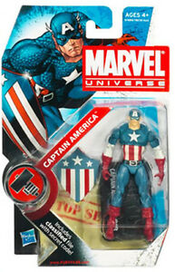 CAPTAIN AMERICA marvel universe FIGURE series 2 #8 WW2 WWII first appearance NEW