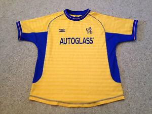 official photos 97e30 ed380 Details about Chelsea Vintage Away Shirt Boys Aged 11 -13 Years Autoglass  Season 2000 (M3)