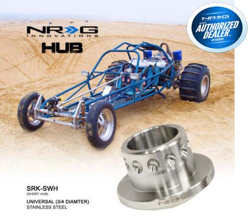 """NRG Short Spline Weld on Hub Adapter Stainless Steel w// 3//4/"""" Shaft SRK-SWH"""