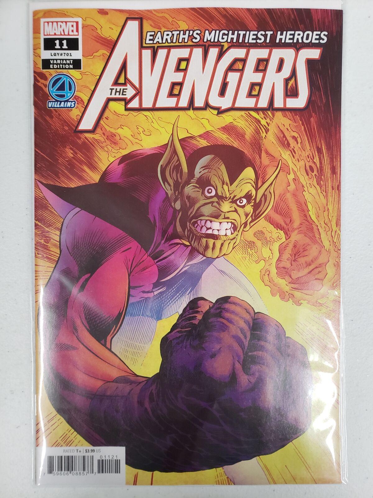 The Avengers #11 Davis Fantastic Four Villains Variant Marvel NM Comics Book