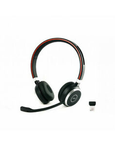 Jabra Evolve 65 Ms Stereo Headset Hsc018w With Link 360 Dongle And Cable Ebay