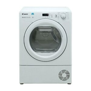 Refurbished Candy CS H8A2LE Smart Freestanding Heat Pump 8KG Tumble Dryer
