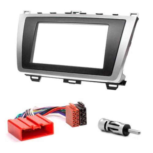 Atenza 6 CARAV 08-011-015-006 car 2DIN fascia facia panel plate frame for MAZDA
