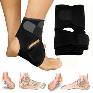 Medical-Ankle-Support-Strap-Adjustable-Wrap-Bandage-Brace-foot-Pain-Relief-Sport