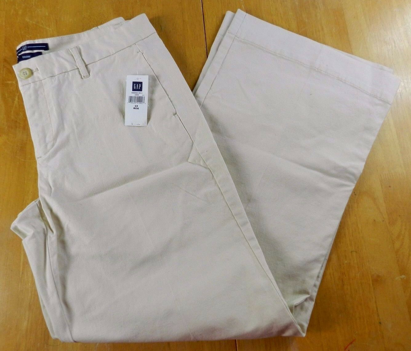 New WOMANS PANTS = GAP trouser stretch pants = SIZE 10 = KN79