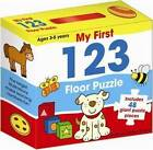 My First 123 Floor Puzzle by Five Mile (Hardback, 2010)
