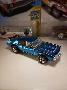 Vintage-Hot-Wheels-Redline-ICE-BLUE-442-Rare