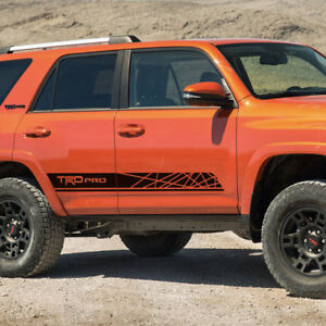 toyota 4runner trd pro style graphics side stripe decal ebay. Black Bedroom Furniture Sets. Home Design Ideas