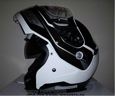 HJC CL-MAX3 Motorcycle Helmet Semi Flat Matte Black L LG Large Modular Sunscreen