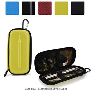 Details about Slim Semi-Hard Protective Personal Vaporizer_VapePen Battery  Zipper Travel Case