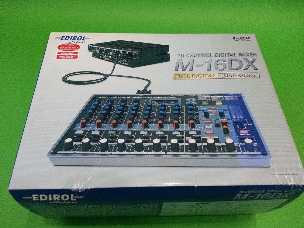 Roland Edirol m-16dx 16 Channel Digital Mixer Nuevo En En En Caja Libre de EMS  alta calidad general