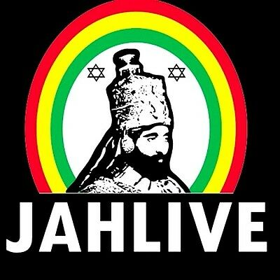 "2.5"" STICKER DECAL Zion Roots Rasta Reggae Haile Selassie JAH LIVE Lion of David"