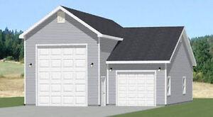 32x40 1 rv 1 car garage pdf floor plan 1 197 sq ft for 32x40 garage plans