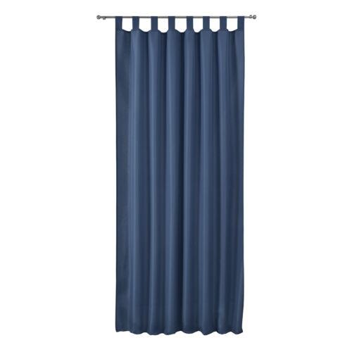Vorhang Schlaufenschal Blickdicht 140x175 Gardine Schlaufengardine Dekoschal Uni