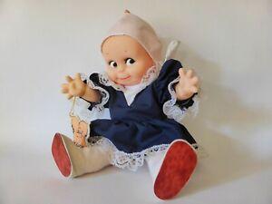 Jesco-12-Inch-1987-Kewpie-Doll-with-Tag-All-Original-Kitsch-Vintage-Cupie