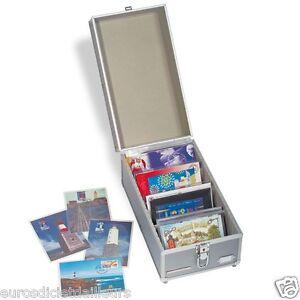 Valisette-numismatique-CARGO-pour-cartes-postales-pieces-billets-LEUCHTTURM