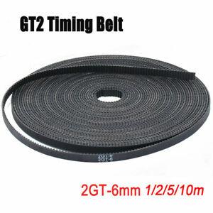 1-2-5-10m-GT2-Zahnriemen-Breit-Glasfaser-Belt-offen-Timing-fuer-3D-Drucker-6M