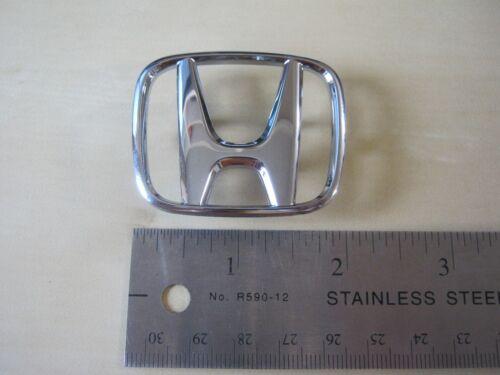 Genuine Honda 6282975 OEM chrome emblem logo air bag steering wheel PLEASE READ