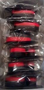 6 Canon MP11DX MP-11DX  Black//Red Calculator Ribbons PR-511 BR80C R3027