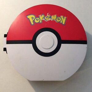POKEMON-Poke-Ball-Hard-Carrying-Case-Storage-Figure-Carrier-2011-Nintendo-Jakks