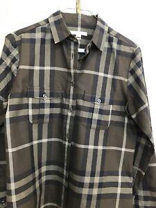 burberry green plaid shirt