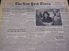 1950 MAY 28 NEW YORK TIMES - LESINSKI DEATH TIPS PRO LABOR BALANCE - NT 4575