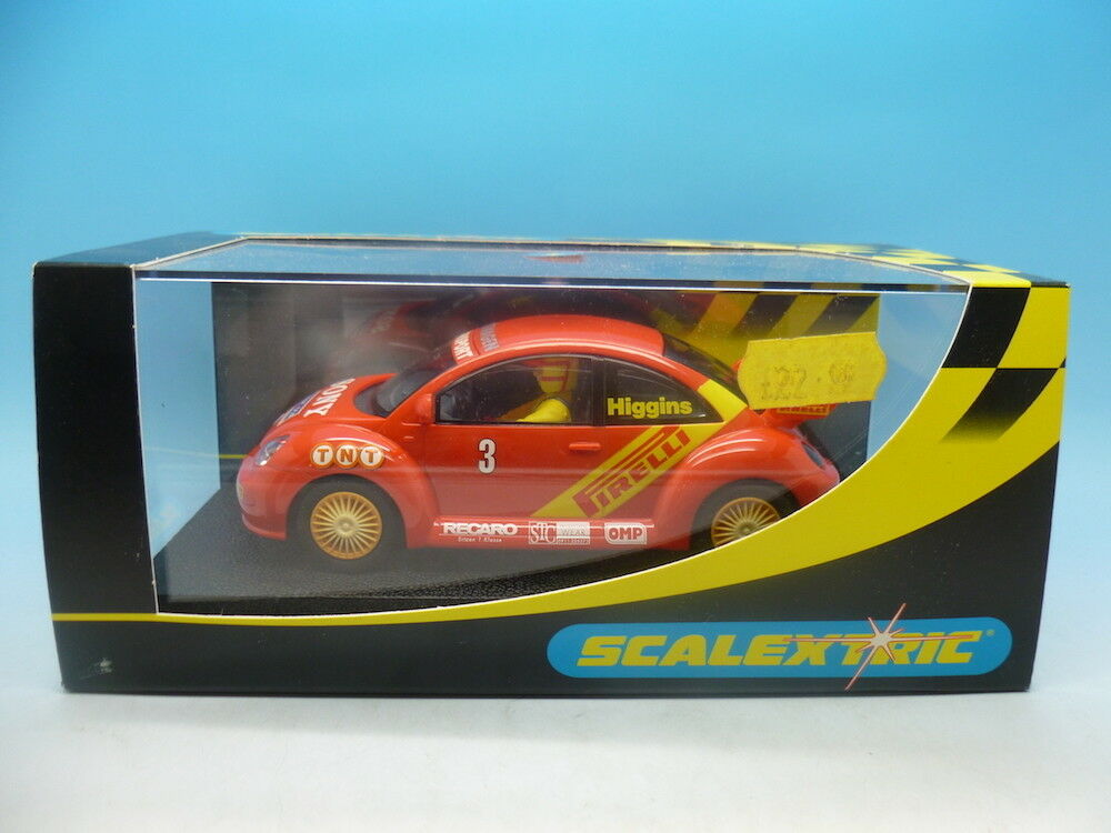 Scalextric C2233 VW Beetle Pirelli No.3 mint unused