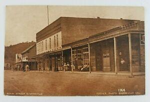 Postcard-Main-Street-Guerneville-California-1915-Dirt-Road-Bank