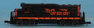 Arnold-1-160-N-Scale-EMD-GP-30-Rio-Grande-3017-Loco-Engine-Train-5052U