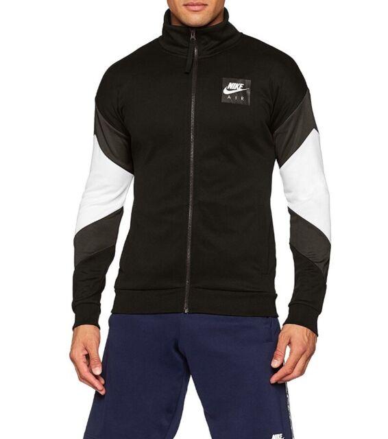 Nike Men's Air Pack Full Zip Track Jacket Black White AJ5321 010 Multi Sizes