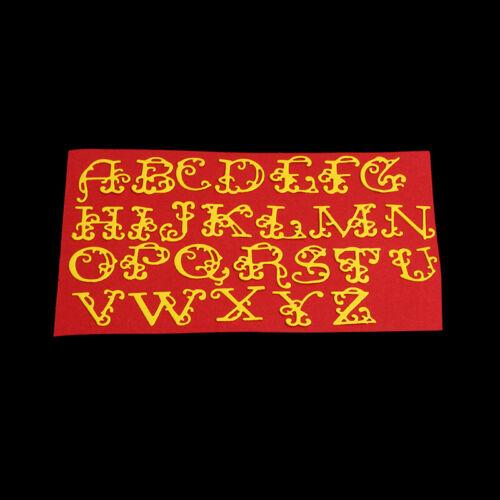 Stanzschablone Groß Buchstaben Weihnachten Hochzeit Geburtstag Karte Album Deko