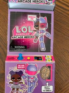 NIB INFINITY QUEEN LOL Surprise ARCADE HEROS Doll 2020 ...