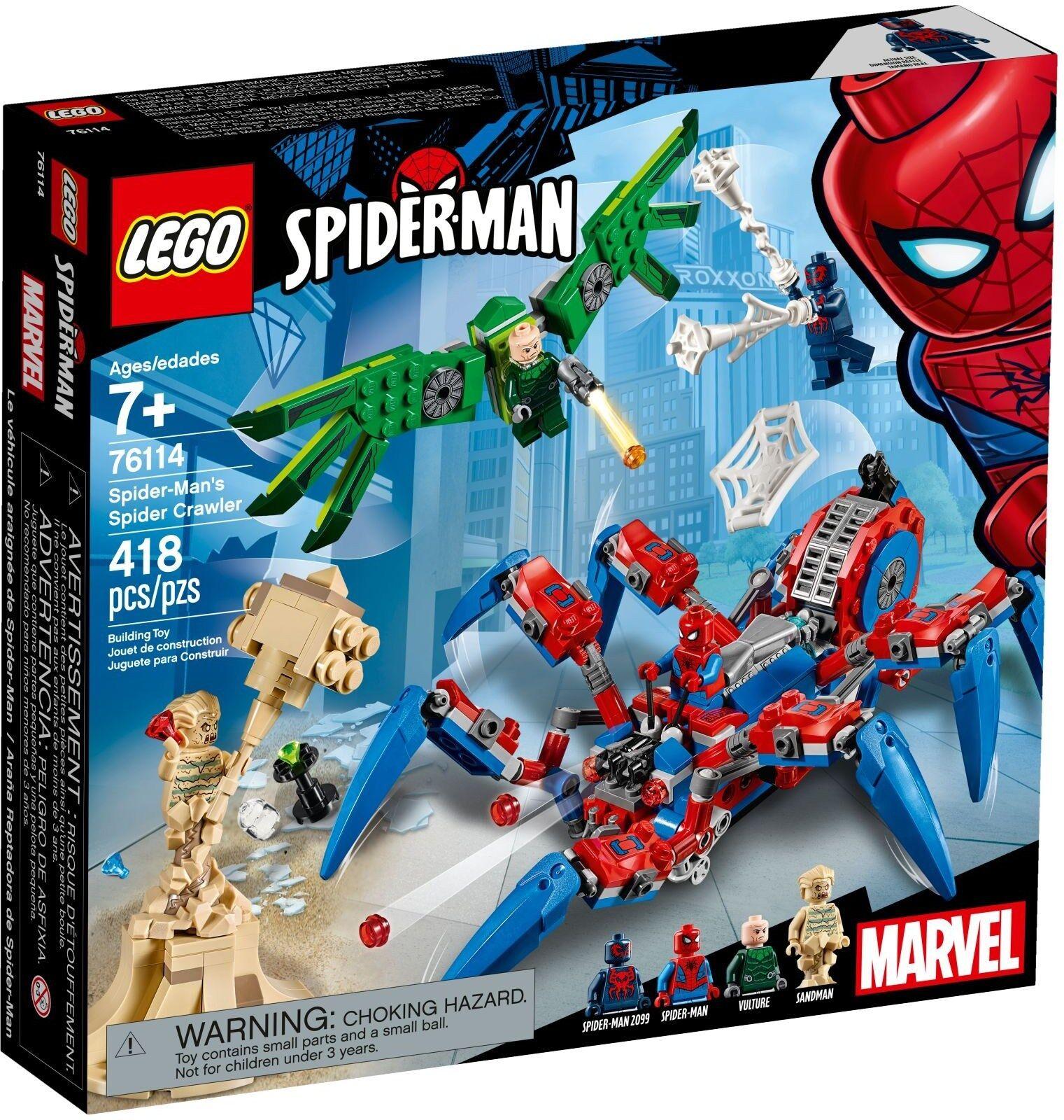 LEGO Marvel Superheroes Superheroes Superheroes - 76114 Spider-Mans spinnenkrabbler-NOUVEAU & NEUF dans sa boîte 2b8cd1