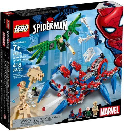 LEGO Marvel Superheroes 76114 SPIDER-Mans spinnenkrabbler-NUOVO /& OVP