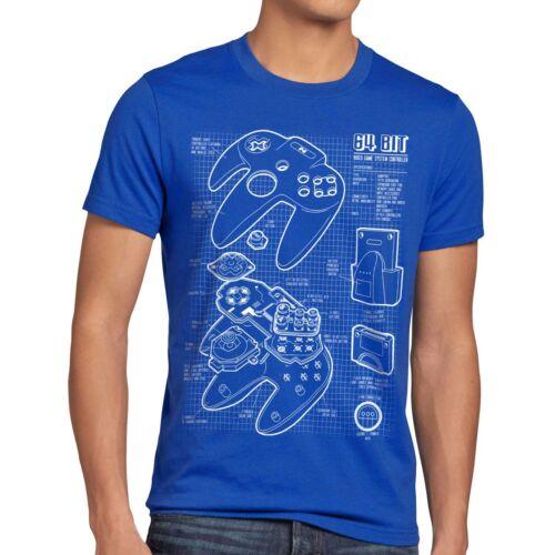 Contrôleur 16 bits image t-shirt Hommes Gamer snes jeu Mario Kart zelda Boy