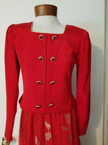 Vintage Diane Dickinson for Neiman Marcus 2 pc sz